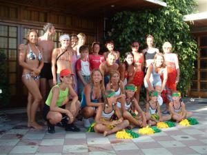 2006 - Aerobik u moře - Španělsko - červenec