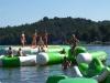 Letní soustředění závodní skupiny fitness step 11 - 13 let - Doksy u Máchova jezera s trenérkou Ivetou - srpen