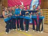 Tým Barči Barešové - aerobic17 a více let - závody na Kladně a v Plzni - říjen