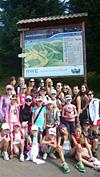 Letní soustředění všech týmů FITNESS STEP - Rokytnice nad Jizerou - srpen