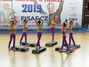 Závody - FISAF AEROBIC&FITNESS 1. nominační závod - Brno 13. - 14.4.